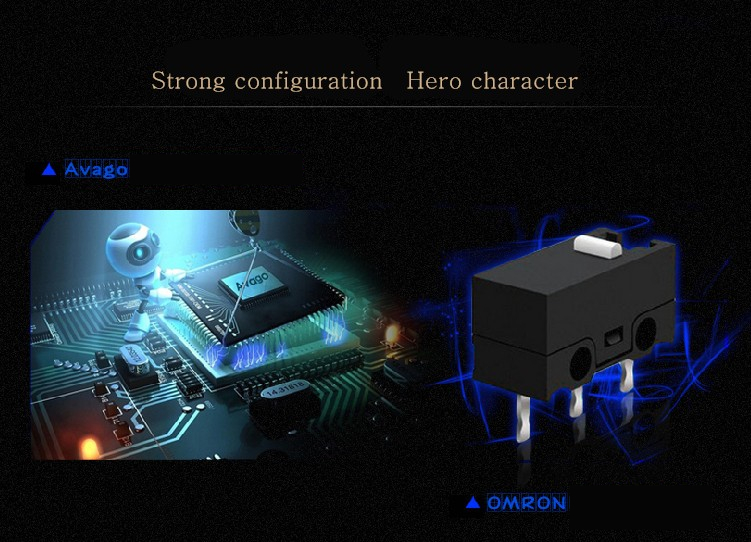 Hongsund MG3 Wired Optical Lights USB PC Computer Laptop Gamer Game Gaming Mouse Mice IE3.0 upgrade IO1.1CF CS LOL Gaming Mouse 68