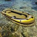 3 + 1 Persone 305*136*42 cm di spessore barca da pesca gommone kayak tender zattera accessorio canoa alumnium remo paddle pumpA06008