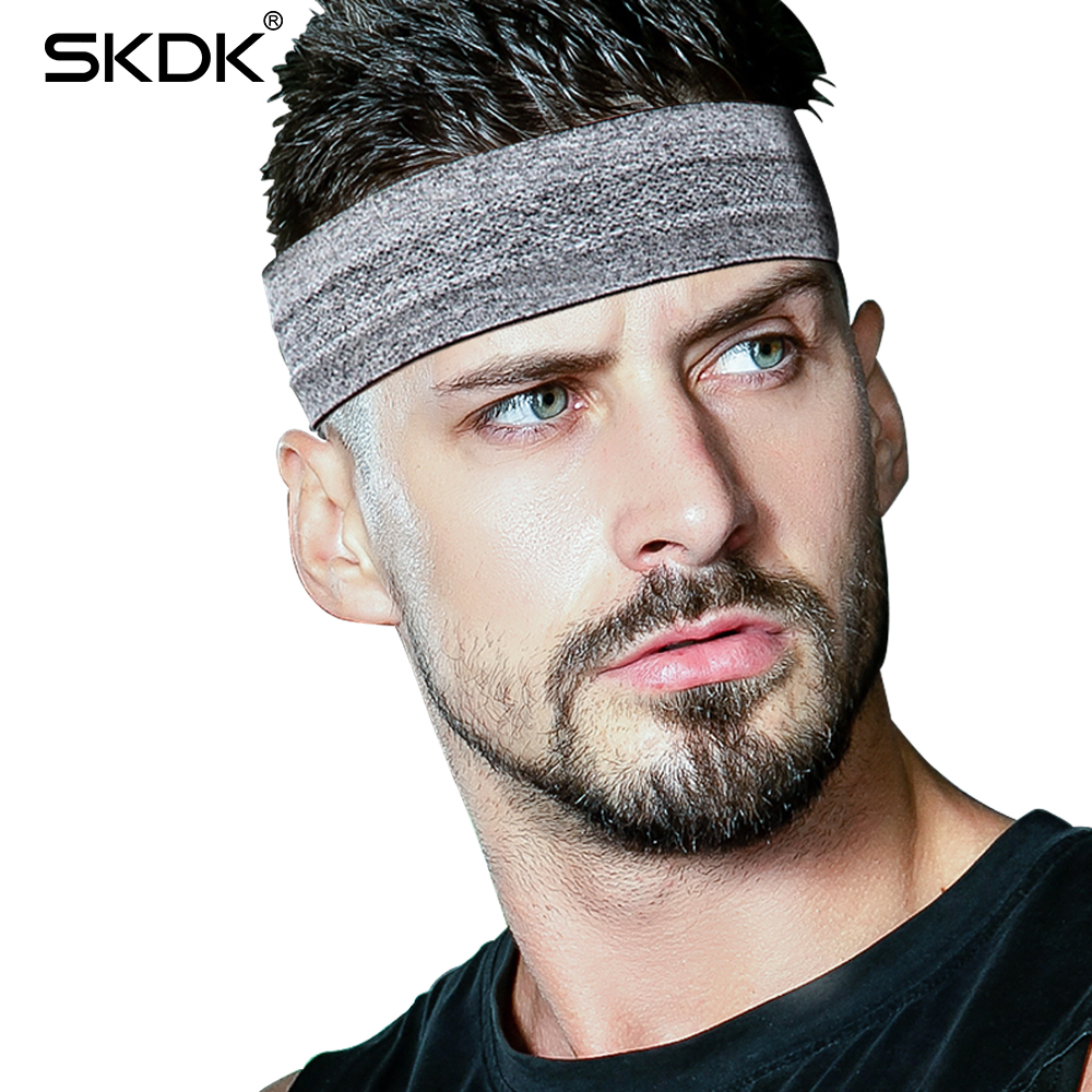 все цены на SKDK 1Pc Sweatband Elastic Yoga Running Fitness Sweat band Headband Hair Bands Head Prevent Sweat Band Sports Equipment