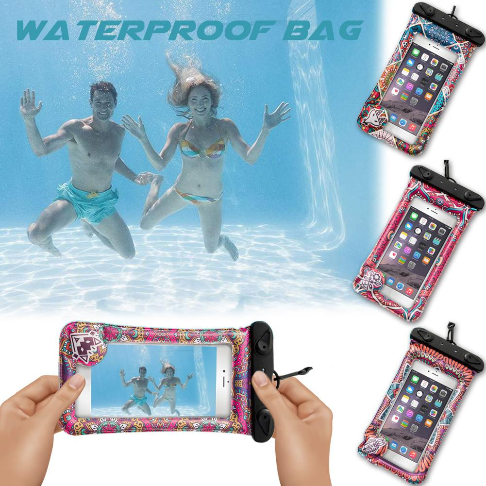 Waterproof Travel Swimming Waterproof Bag Case Cover For Cell Phone Pouch Diving Bags Dropship все цены