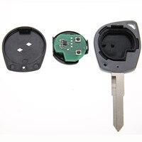 MAYITR 1pc Remote 2 Buttons Auto Key Fob 433MHz ID46 Chip For Suzuki SX4 Swift 37145