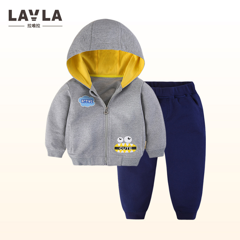 Toddler Tracksuit Spring Baby Clothing Sets Children Boys Girls Fashion Brand Clothes Kids Hooded T-shirt And Pants 2 Pcs Suits 2017 summer girls sets clothes short sleeve chiffon baby girls sets for kids big girls t shirts and stripe shorts children suits