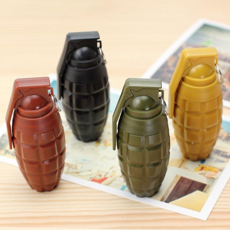 2pcs/lot Creative Hand Grenades Shape Weapons Telescopic Ball-point Pen Kawaii Stationery Office School Supplies Kids Gift