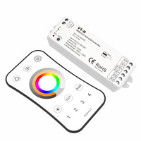 5 Channel RGB+CCT LED RF Controller 5CH 3A PWM Constant Voltage 12 24VDC