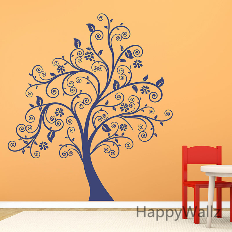 Large Tree Wall Sticker Family Tree Wall Decal Kids Room Decorative ...