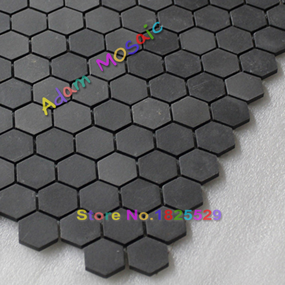 Hexagon Mosaic Tiles Black Matt Kitchen Wall Design Ceramic Subway  Backsplash Free Shipping On Aliexpress.com | Alibaba Group