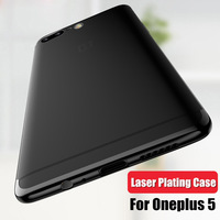 Cover For Oneplus 5 Case Anti Drop Silicone Ultra Thin Transparent All Inclusive For Oen Plus