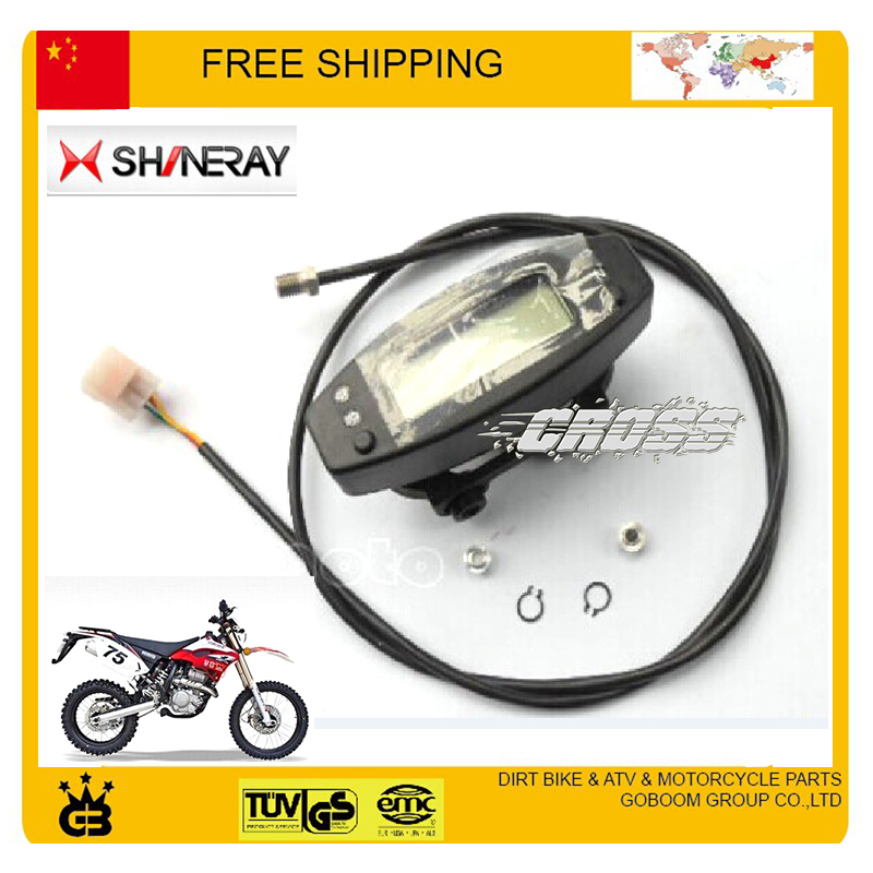 shineray X2 X2X XY250GY Motorcycle Speedo Meter Gauge Instrument  odometer speedometer free shipping цена 2017