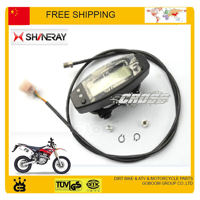 shineray X2 X2X XY250GY Motorcycle Speedo Meter Gauge Instrument odometer  speedometer free shipping-in Instruments from Automobiles & Motorcycles