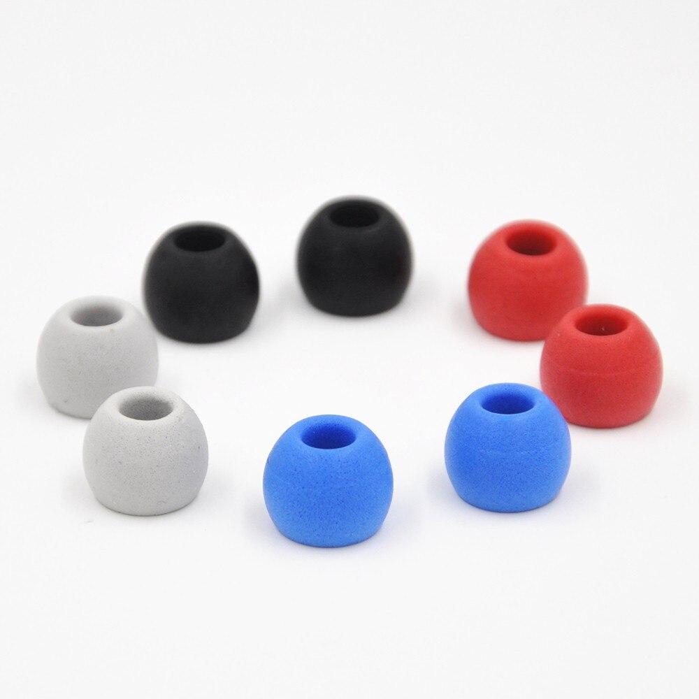 4 Pairs (8pcs) KZ Noise Isolating Memory Foam C Sets 3mm 5mm T100 T400 Ear Tips For In Ear Earphone Earbud