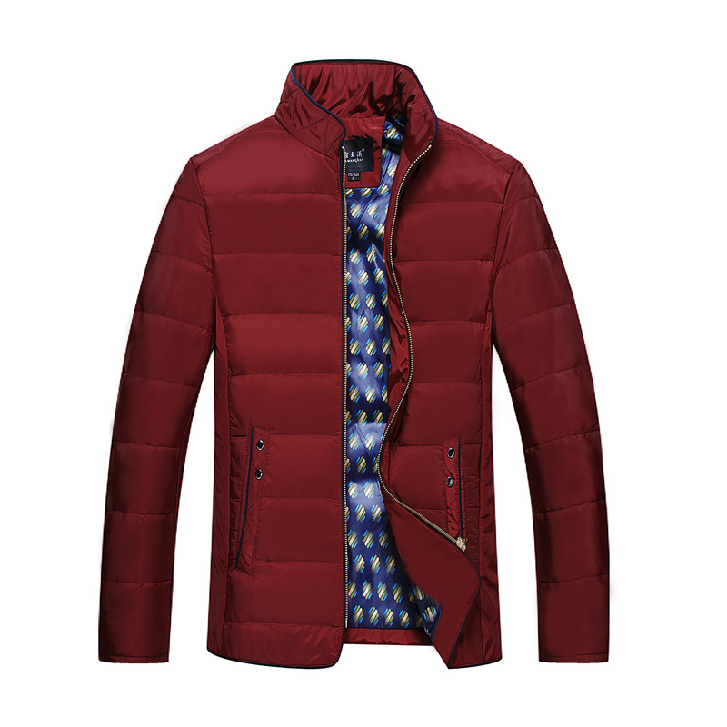 Large 7XL8XL male collar thick padded jacket Korean version of casual high quality man winter