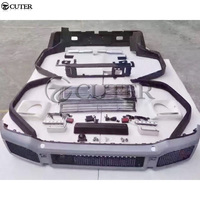 For Mercedes Benz W463 G63 G65 AMG BRABUS style Car body kit PU Unpainted front bumper rear bumper Round eyebrows