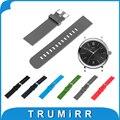 19mm 20mm 21mm 22mm caucho de silicona correa + pernos de liberación rápida para iwc venda de reloj de pulsera correa de la correa de pulsera