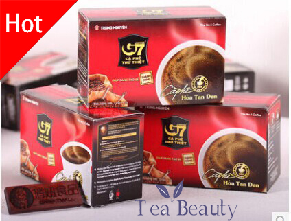 3 Boxes 45 Slimming Coffee for Weight Loss Vietnam Instant G7 Coffee 100% Imported with Original Packaging Hot Sale Black Coffee