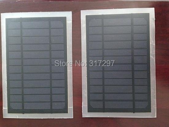 3.5Watt 6V Monocrystalline Frosted PET Solar Panel Solar Module DIY Solar Charger 580mA 210*135mm