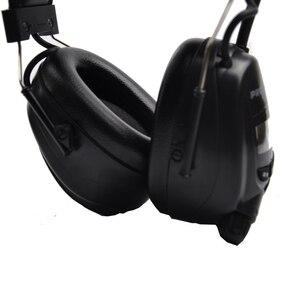 Image 3 - Protear NRR Protector auditivo electrónico, orejeras de Radio AM FM, protección auditiva electrónica