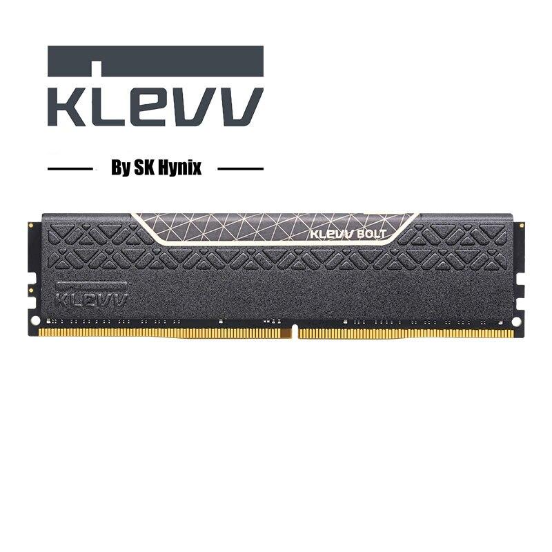 Klevv BOULON 8 GB 8G DDR4 PC4 2400 Mhz 2666 MHZ 3000 Mhz Module 2400 2666 3000 ordinateur pc ram de bureau mémoire 4 GB 8 GB 16 GB DIMM