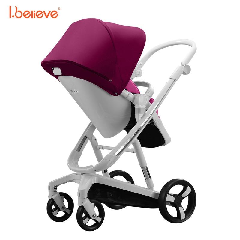 I.believe Baby Stroller I-S035A - ბავშვთა საქმიანობა და აქსესუარები - ფოტო 4