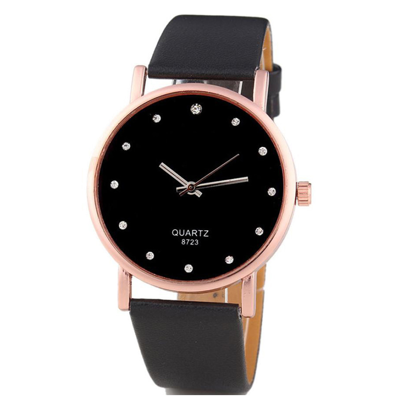 Montres Femmes 2017 Diamond Bracelet Watches Women Fashion Leather Wristwatch Men's Quartz Watch Woman Clock Relogio Feminino #S 2016 new arrival mens women watches top brand quartz watch lvpai vente chaude de mode de luxe femmes montres femmes bracelet