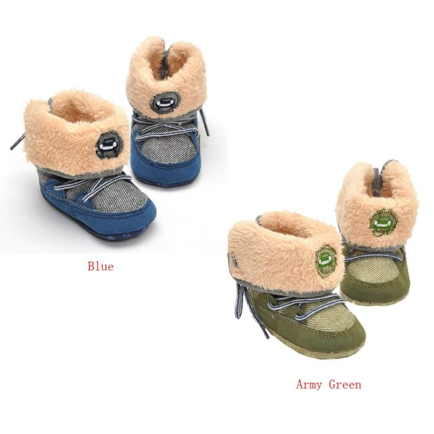 babies shoes for baby boy Winter Warm boots brand new baby shoes Skid resistance toddler first walkers Dropshipping #20