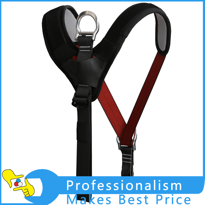 High Strength Safety Shoulder Strap For Rock Climbing Protection Harness Equipment xinda professional half body safety belt harnesses for rock climbing outdoor expand training aerial protective supplies