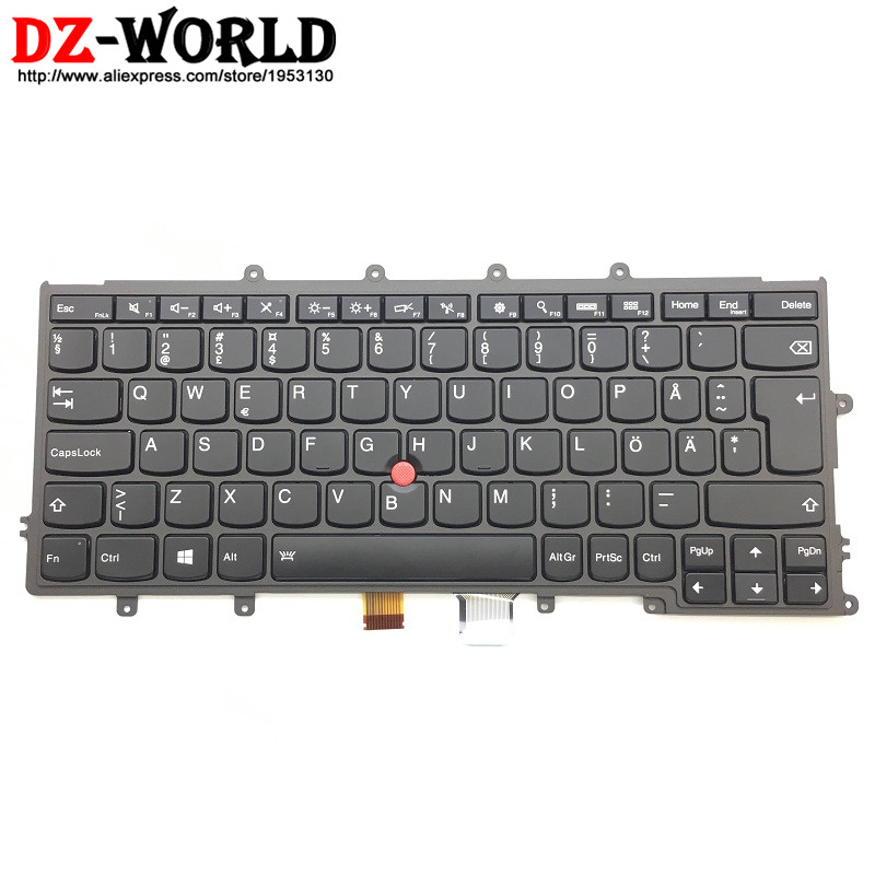 все цены на New Original for Thinkpad X230S X240 X240S X250 X260 Backlit Keyboard Swedish Finnish 04X0203 04X0241 01AV526 01AV566 0C44008