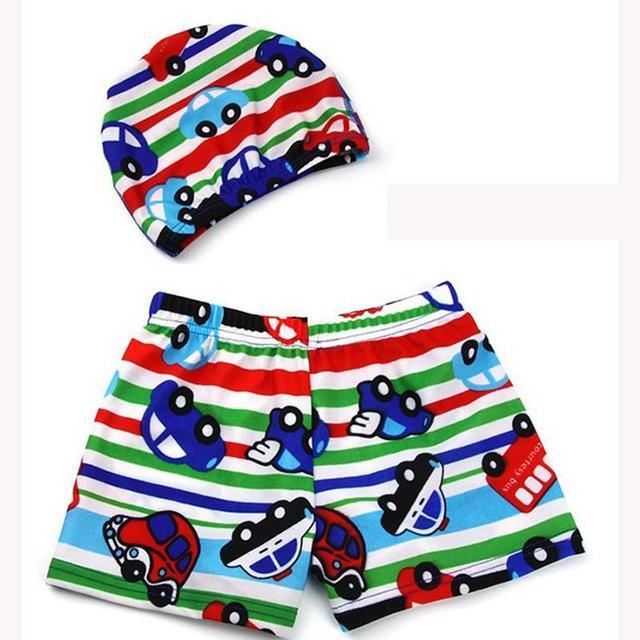 Swimming Shorts and Cap Set