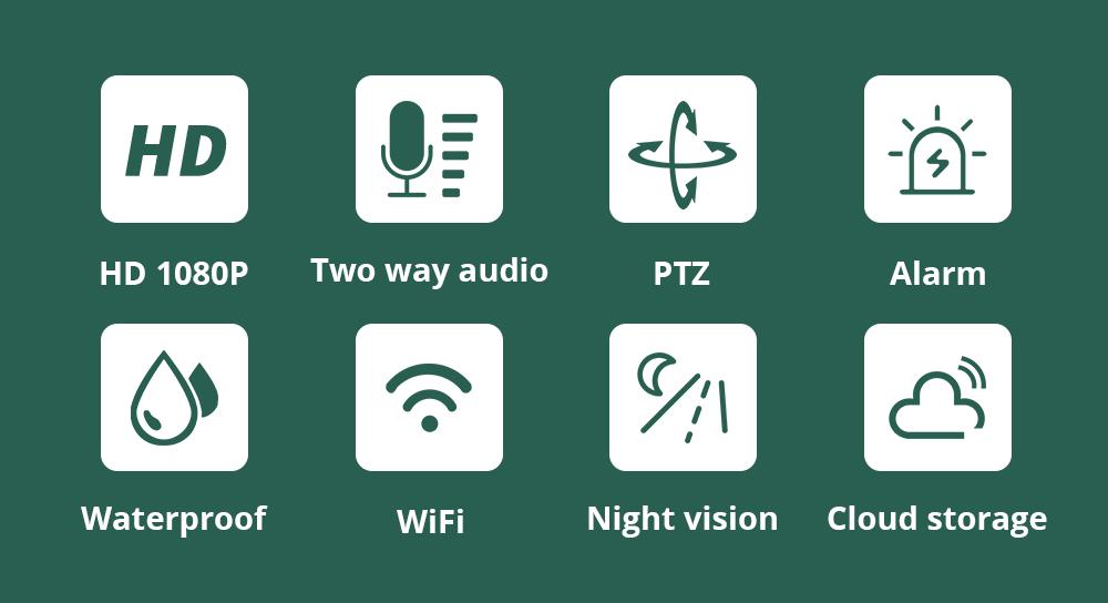 HTB1oOIJa.T1gK0jSZFh761AtVXaO INQMEGA 4X Digital Zoom H.265X 1080p PTZ IP Camera Outdoor Speed Dome CCTV Security Cameras WIFI Exterior IR Home Surveilance