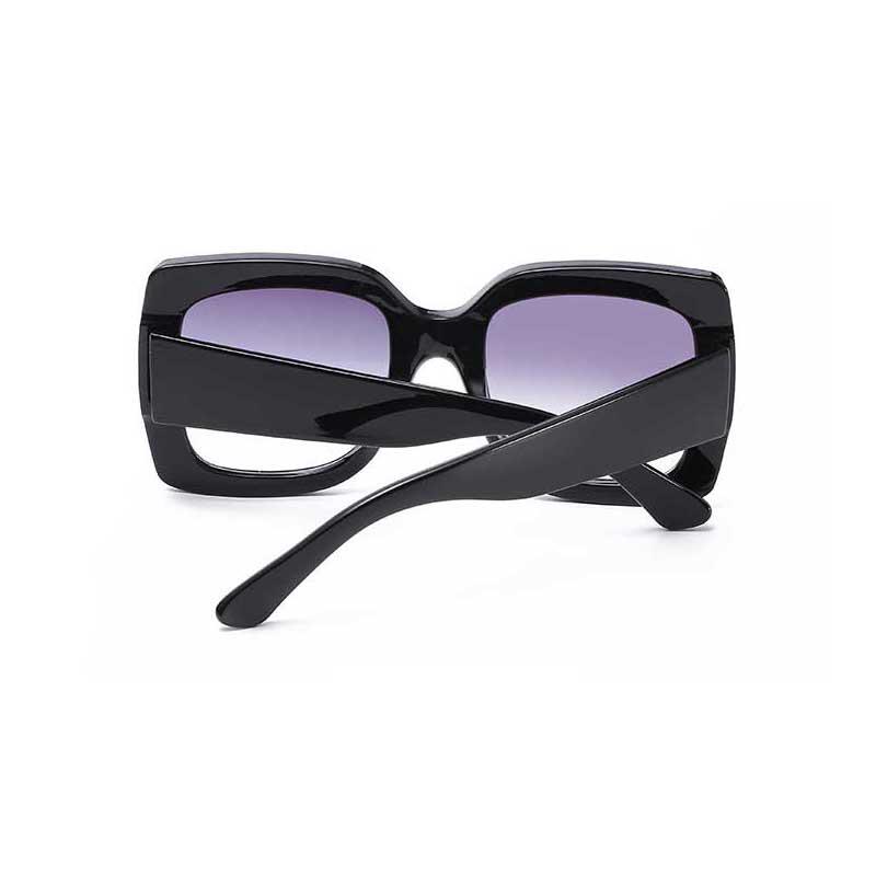 Oversized Sunglasses Women Big Frame Sun glasses Female Color Stripe Frame Retro Square Glasses Vintage Eyewear UV Protection
