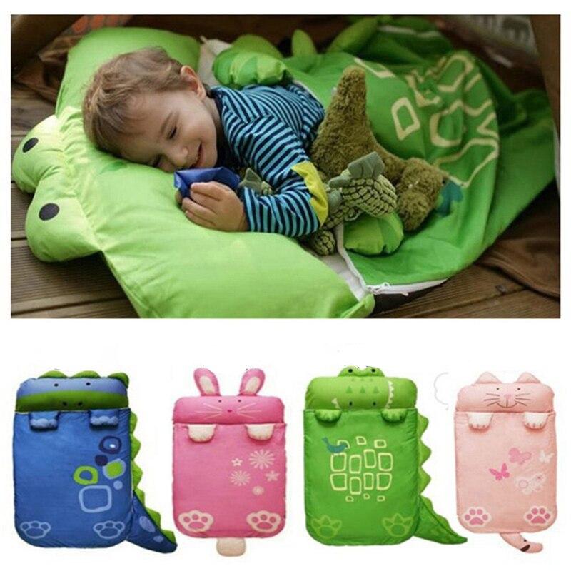 Bébé literie Bébé sacs de couchage Enfants sac de couchage infantile Toddler hiver sac de couchage de bande dessinée animaux sommeil sac 0 1 2 3 4 année
