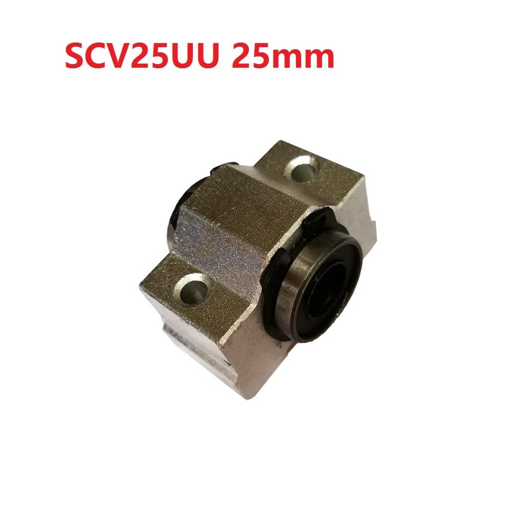 1PCS SCV25 ( SCV25UU SC25VUU) Linear Ball Bearing Pellow block Linear for CNC anon маска сноубордическая anon somerset pellow gold chrome