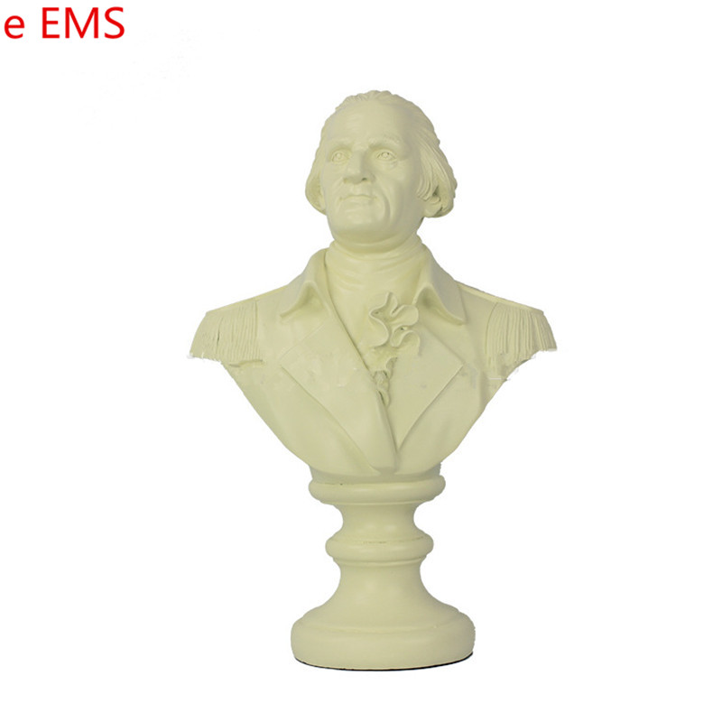 Gypsum Ludwig Van Beethoven Bust Statue Franz Joseph Haydn Resin Craftwork Home Decorations Art Material L2334 pianist composer ludwig van beethoven bust figure sculpture imitation white marble colophony crafts living room decoration g1008