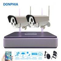 Wireless Security Camera System 2PCS 720P IP Camera Wifi Outdoor Video Surveillance Kit P2P 1 0MP