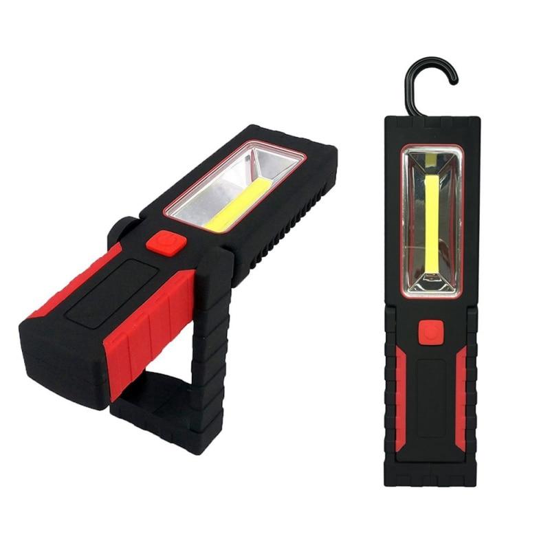 3W+COB Work Lights Outdoor Inspection Lights Hook Light Rotatable Magnet LED Lights
