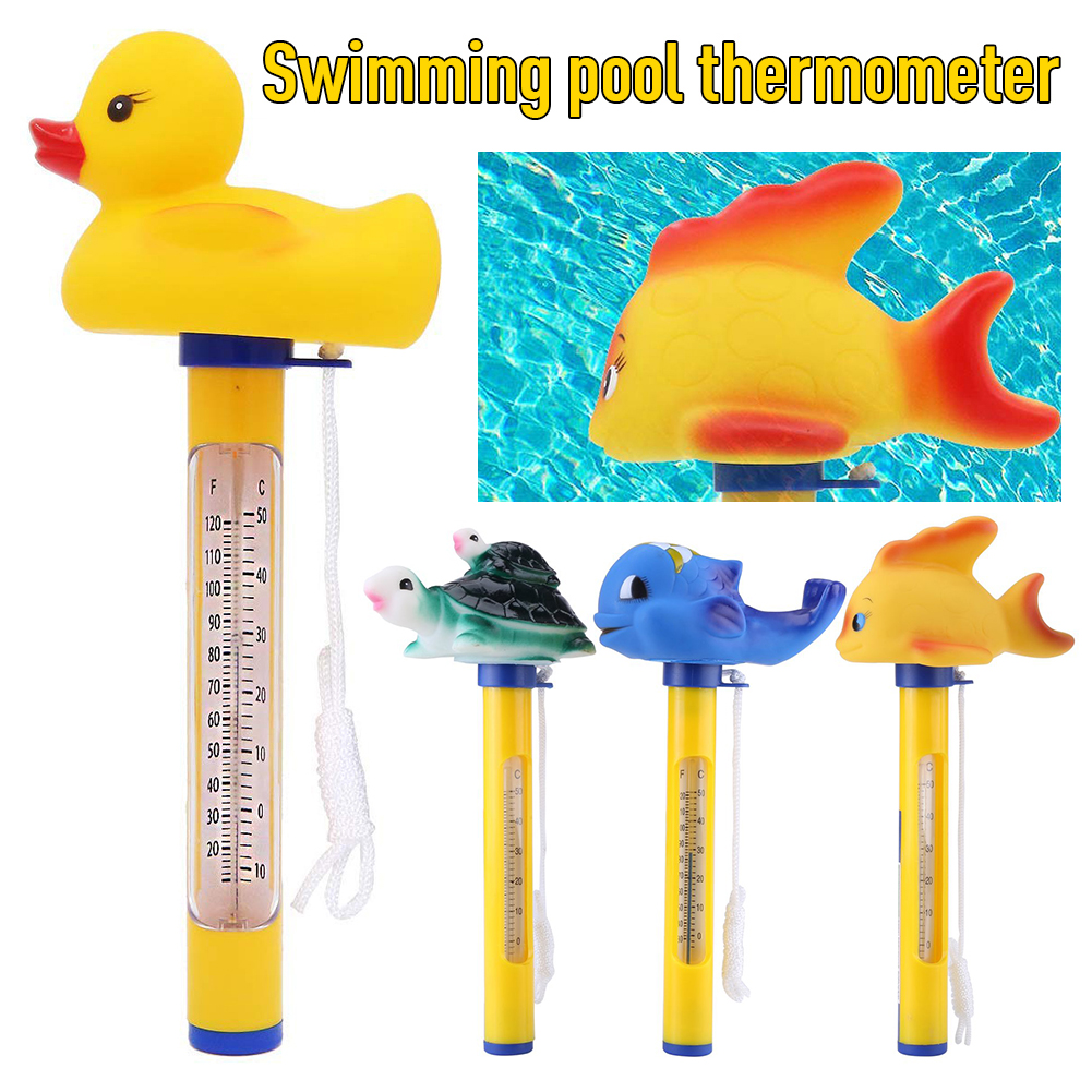 Thermometer Digital for All Outdoor & Indoor Swimming Pools Spas/Hot Tubs Floating Meteo Station Humidity Meter