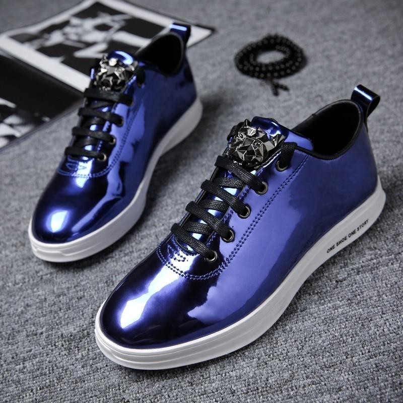 TOSJC 2018 Gaya Baru Pria Mode Luar Kasual Sneaker Lace Up - Sepatu Pria - Foto 4