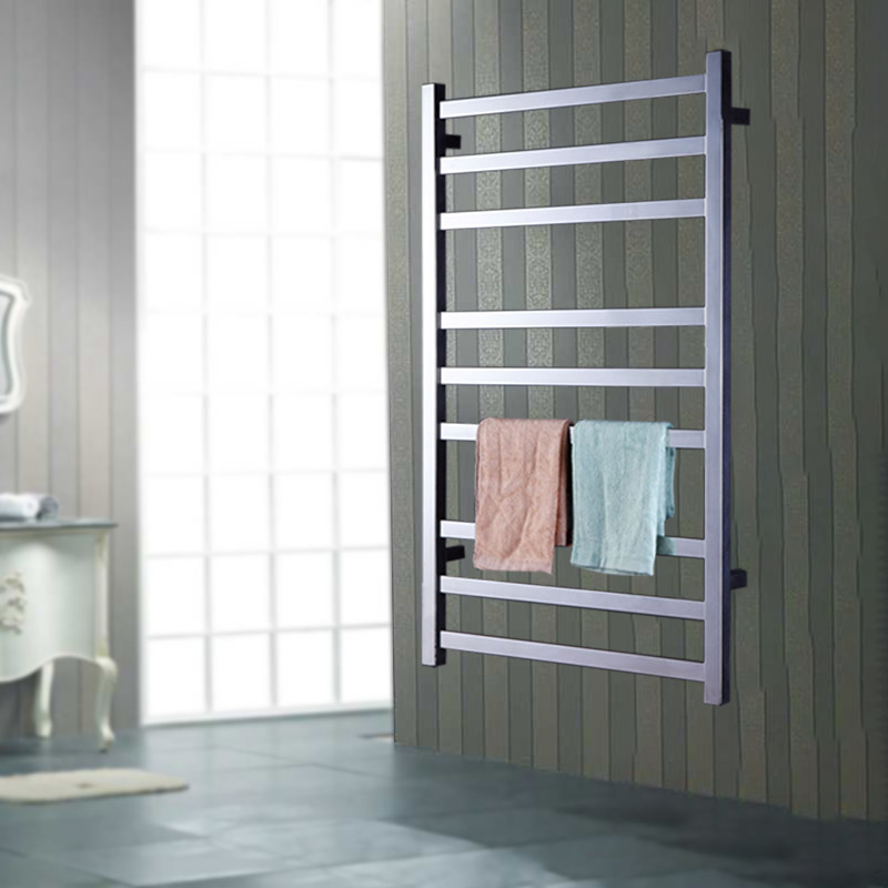 Yijin Are Hz 918 Electric Heated Towel Rack Wall Mounted Style Warmer Rails 304 Stainless Steel Dryer Shelf For Bath