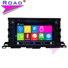 TOPNAVI Wince 6.0 9″ 2Din Car Multimedia DVD Player Auto Radio For Toyota Highlander 2015- Stereo GPS Navigation Magnitol MP3