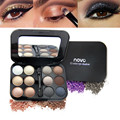 1pcs Cosmetic Waterproof Matte Shimmer Eye Shadow Set Makeup Eyeshadow Palette With Pigment 12 Colors