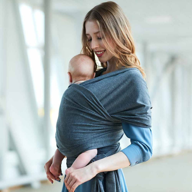Baby Carrier Sling Newborn Soft Breathable Wrap Sling Dad Mom Infant Body Carrier Breastfeeding Comfort ProtectorCover Hip Seat