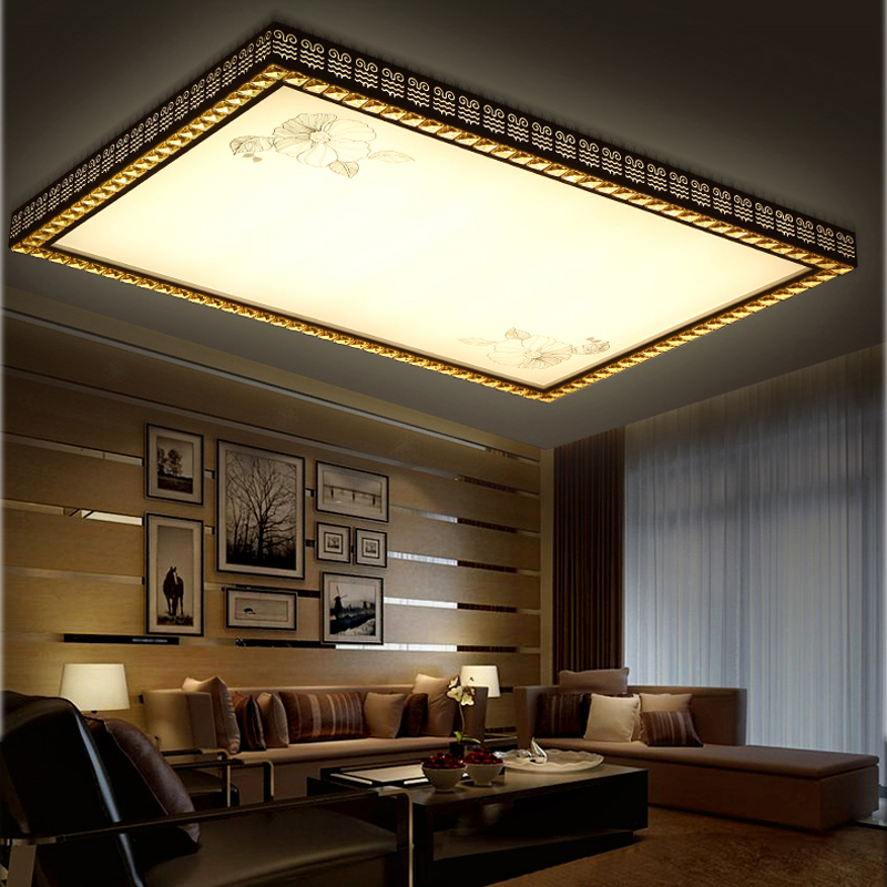 buy modern led living room ceiling lights design acrylic bedroom light. Black Bedroom Furniture Sets. Home Design Ideas
