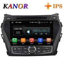 KANOR 4+32g IPS android 8.0 octa core 2din car dvd for hyundai santa fe ix45 2010 2011 2013 2016 car radio multimedia gps player