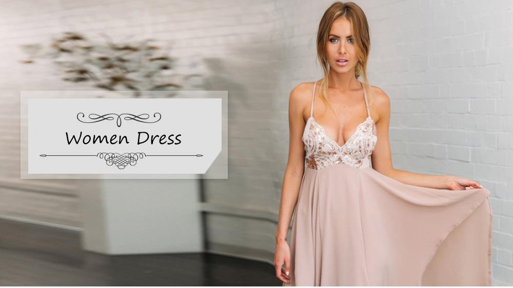 VESTLINDA Sexy Club Dress Women Summer Dresses Spaghetti Strap Sequins V Neck Backless Vestido De Festa Asymmetrical Maxi Dress 11