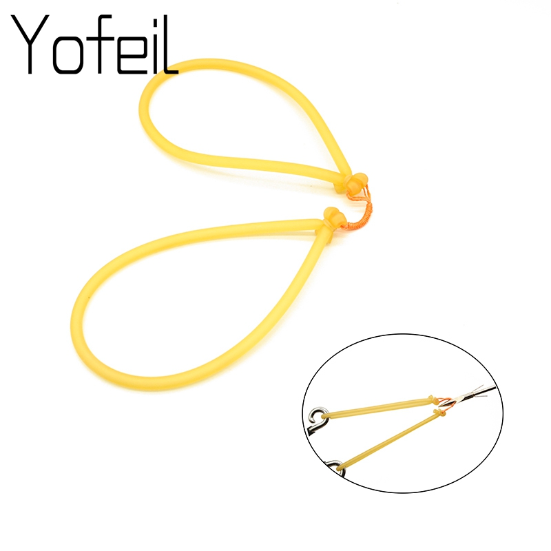 Brand New Outdoor Harpoons Use 1745 Rubber Band Strong Horse Line Pocket Traditional Shooting Hunting Fishing Rubber Elastic