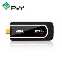 H96 PRO 4K Mini PC Amlogic S912 Octa Core TV Dongle 2.4G Wifi Android 7.1 Tv Box 2G 8G Smart Box HDMI Tv Stick Full HD 1080P