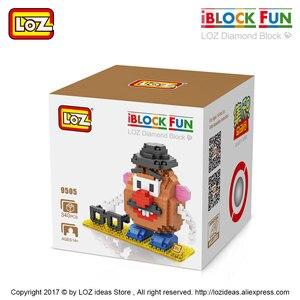 Image 4 - لوز الماس كتل البلاستيك اللبنات الاطفال الأطفال هدية لعبة تعليمية الكرتون نموذج التعليمية لتقوم بها بنفسك بناء الشكل 9505