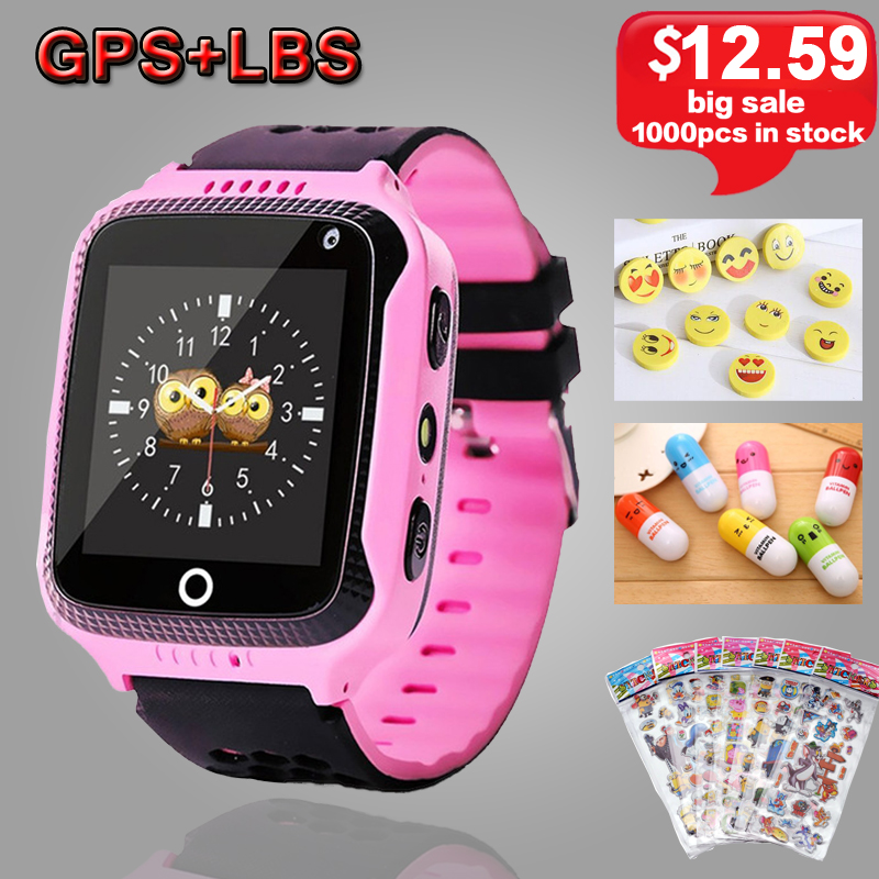 Q528 Kids Smart Watch with Camera Lighting GPS Smart Watch Sleep Monitor SOS Baby Clock 2G SIM Anti-lost Children's Smartwatch. diggro 2g 1 44 inch touch kids gps tracker smart watch with camera 2g sim calls chat anti lost sos remote children safety monitor health helper flashlight for android ios three colors
