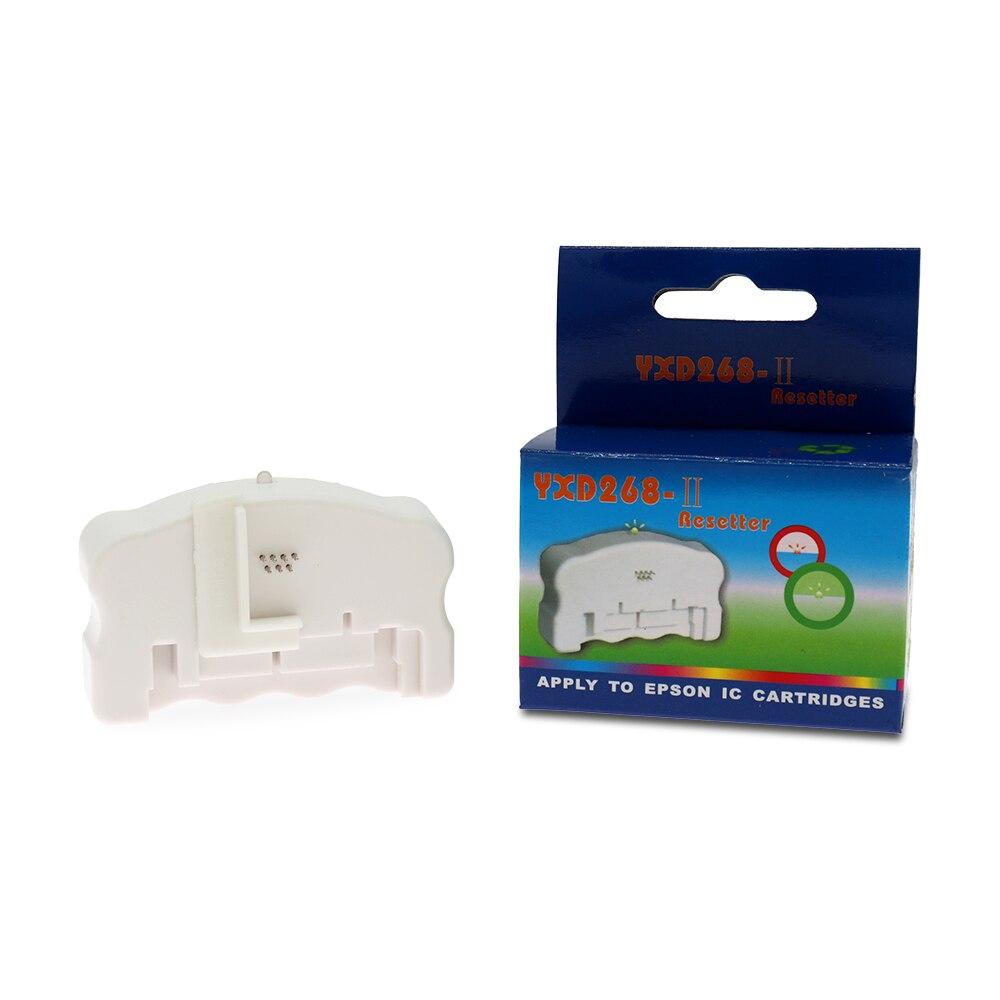 268 чип Resetter для EPSON Все 7-PIN и большинство 9-контактный чернильный чип для картриджей восстановление Resetter Запчасти для принтера аксессуары