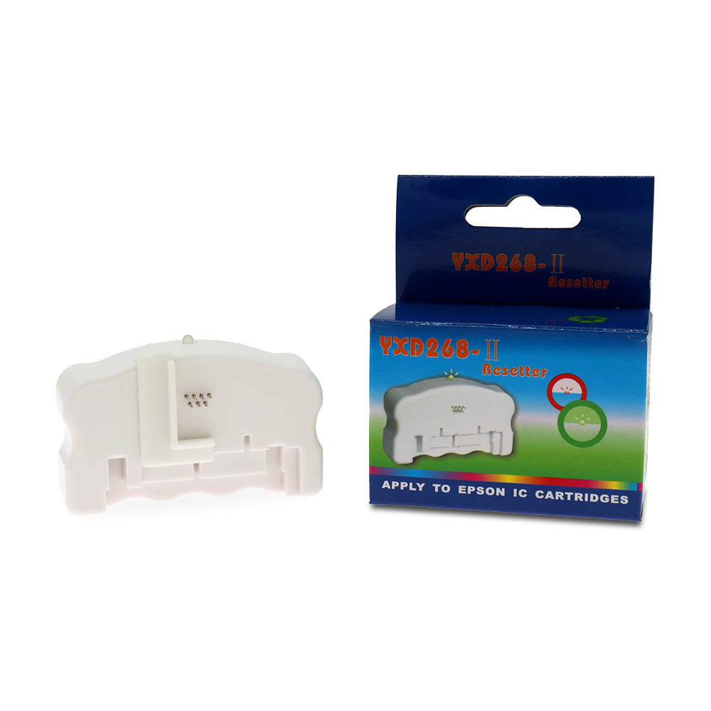 268 Chip Resetter For EPSON ALL 7-PIN And Most 9-PIN Ink Cartridges Chip Restore Resetter Printer Parts Accessories