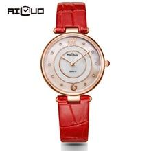 Brand Luxury Fashion Dress Casual Quartz-Watch Women Diamond Leather Strap Sapphire Ladies Ultra-thin Wrist Watches Waterproof